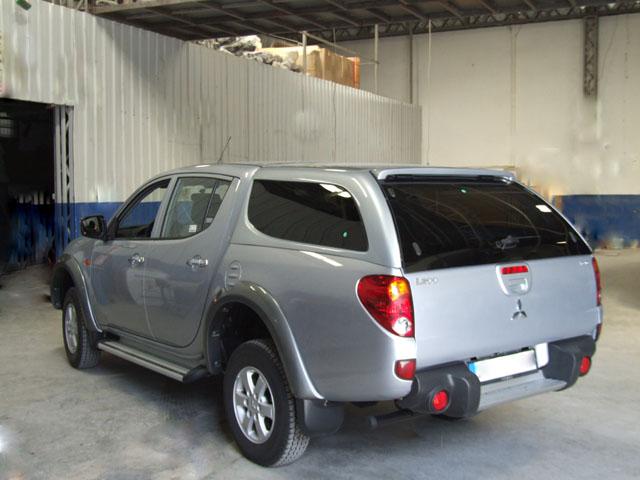 Кунги для Mitsubishi L200 | Купить кунг на «Митсубиси Л200» в ...