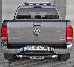 Задняя подножка VW Amarok